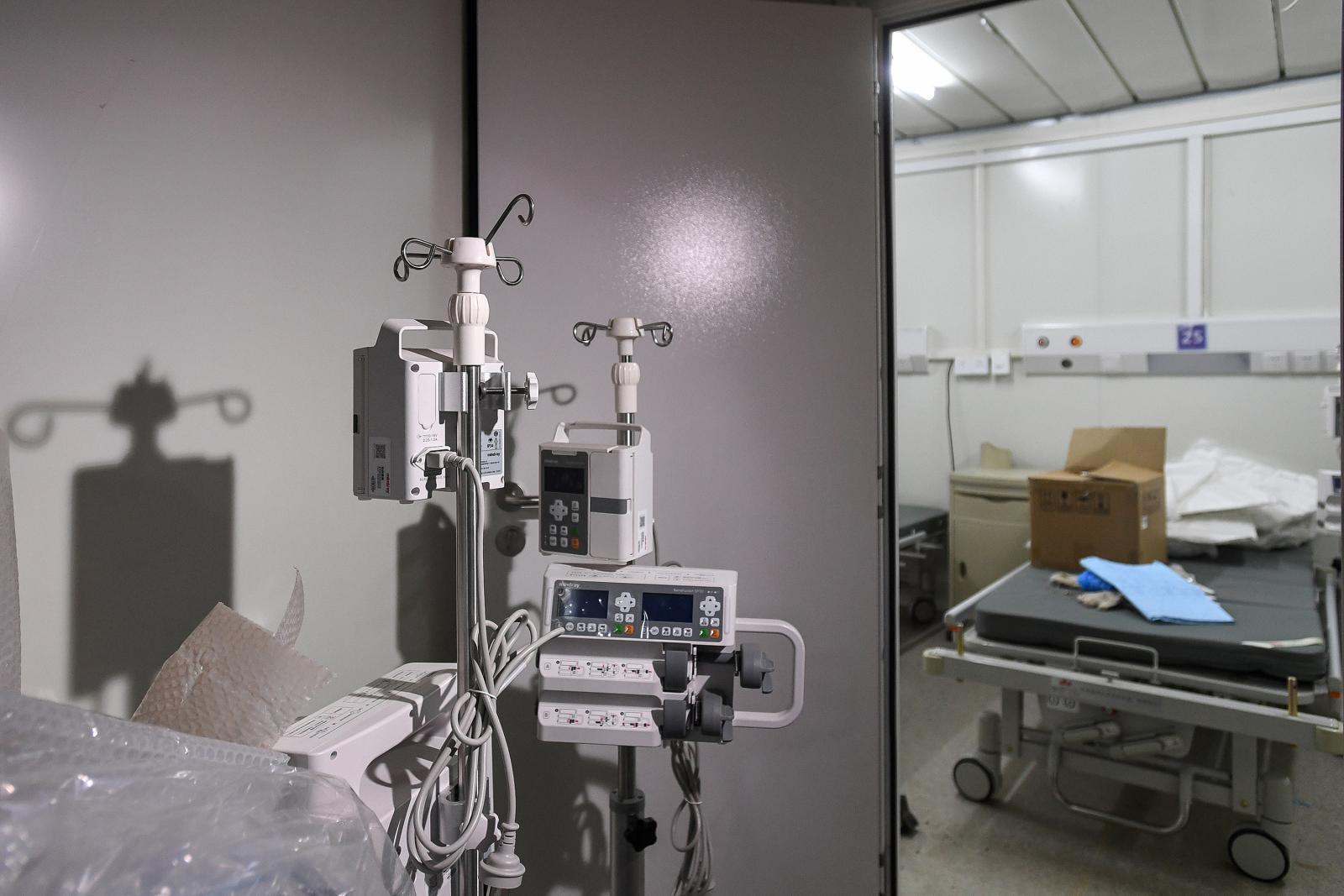 ไวรัสโคโรนา: เปิดภาพภายใน รพ.หั่วเสินซาน หลังก่อสร้างเสร็จเพียง 10 วัน