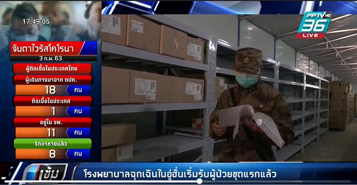 ไวรัสโคโรนา: โรงพยาบาลฉุกเฉินในอู่ฮั่นเริ่มรับผู้ป่วยชุดแรกแล้ว