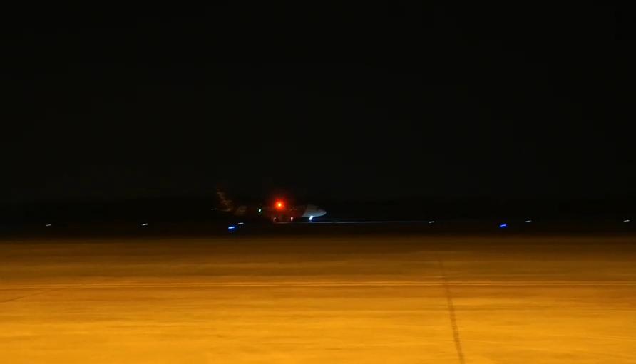 138 คนไทยจากเมืองอู่ฮั่น เดินทางถึงสนามบินอู่ตะเภาแล้ว