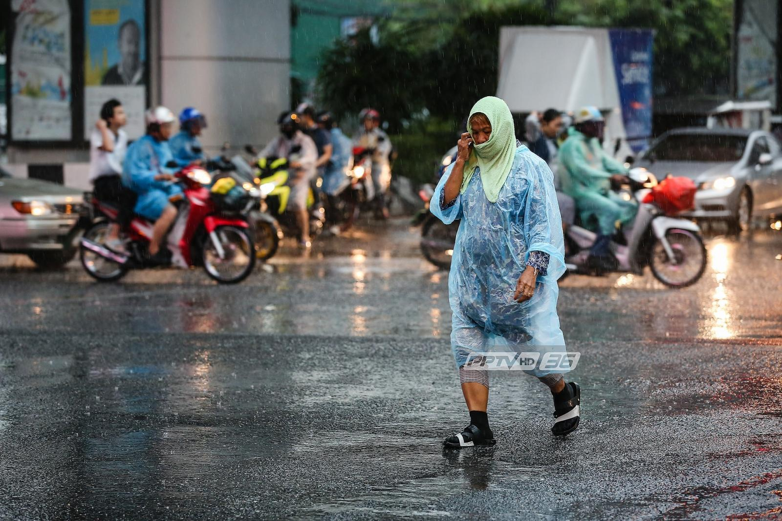 อุตุฯ เตือน กทม.-ปริมณฑลมีฝนเล็กน้อย