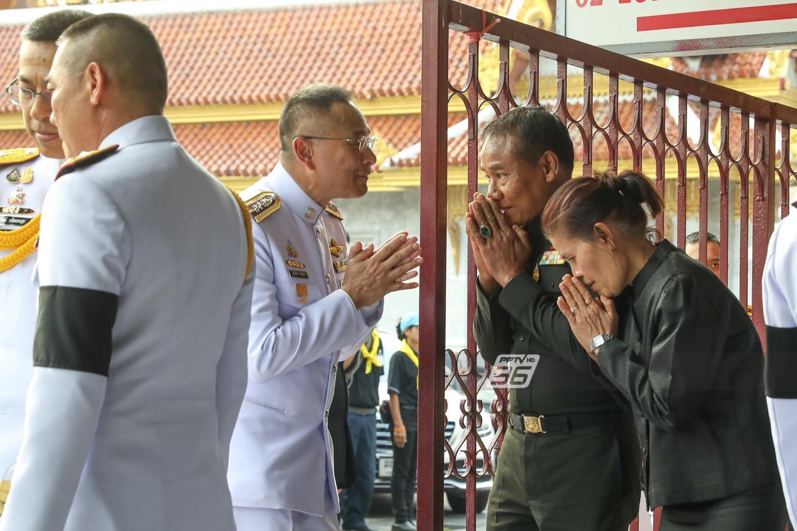 ในหลวง พระราชทานน้ำหลวงอาบศพ 2 ตำรวจอรินทราช 26