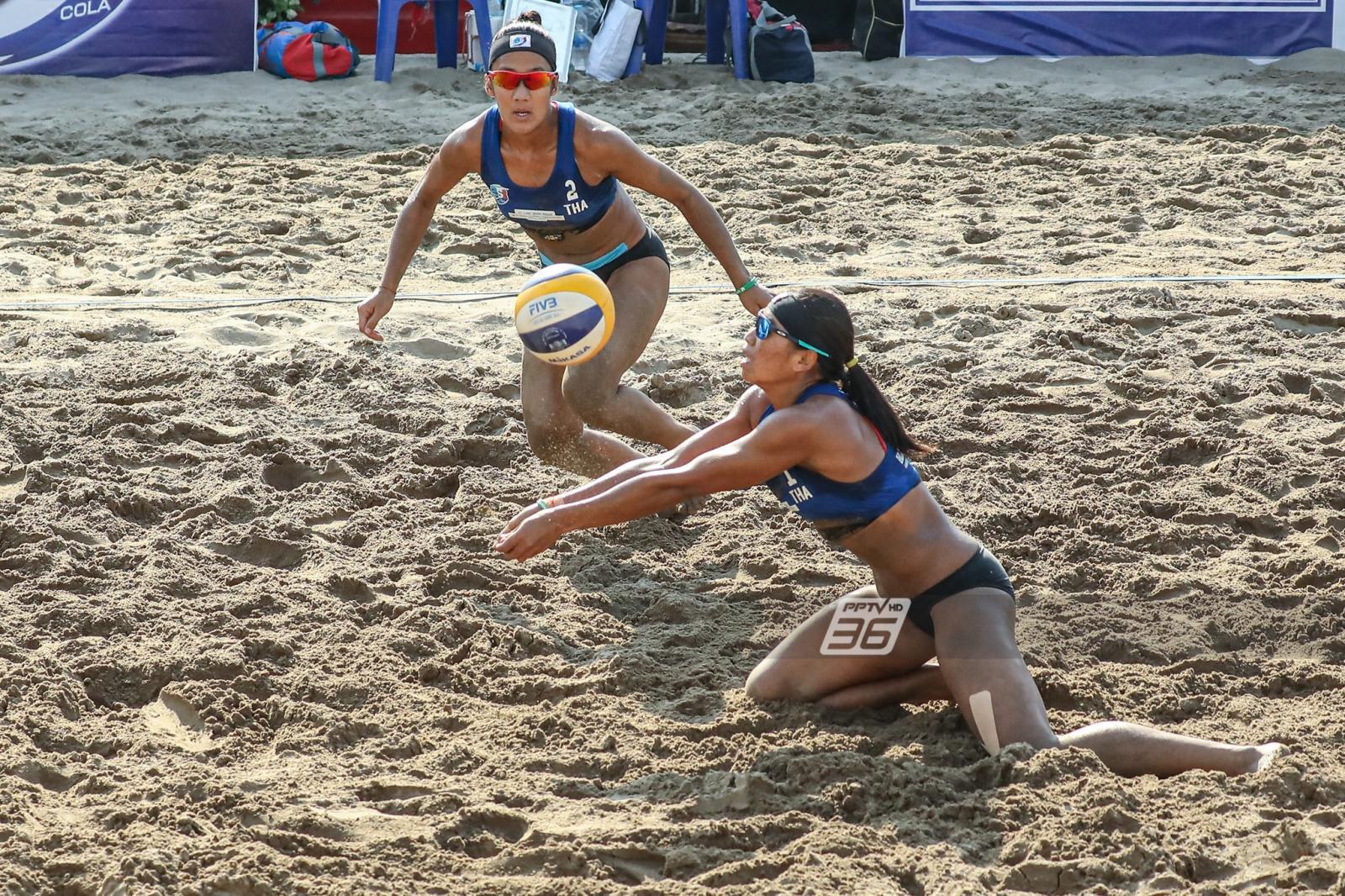 'ไทย' พ่าย 'ญี่ปุ่น' ร่วงรอบ 8 ทีม ลูกยางชายหาดเอเชีย