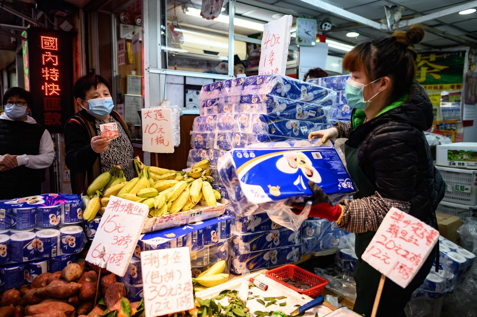 โจรบุกปล้นกระดาษทิชชู 600 ม้วน กลางเมืองฮ่องกง