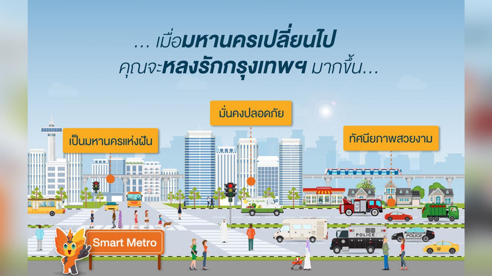 เมื่อ...สายไฟฟ้า ไม่ได้เข้าไปเป็น #มะริ่งกิ่งก่อง ในเมืองกรุงอีกต่อไป