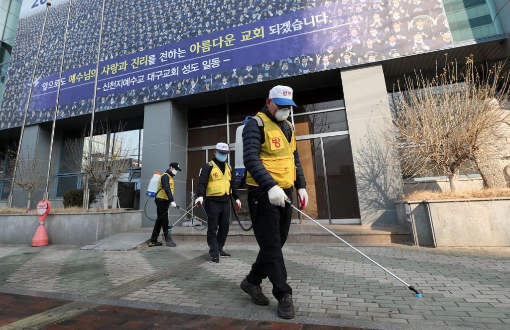 """""""ลัทธิชินชอนจิ"""" จำเลยการระบาด โควิด-19 สู่ความเชื่อมโยง จีน-เกาหลีใต้"""