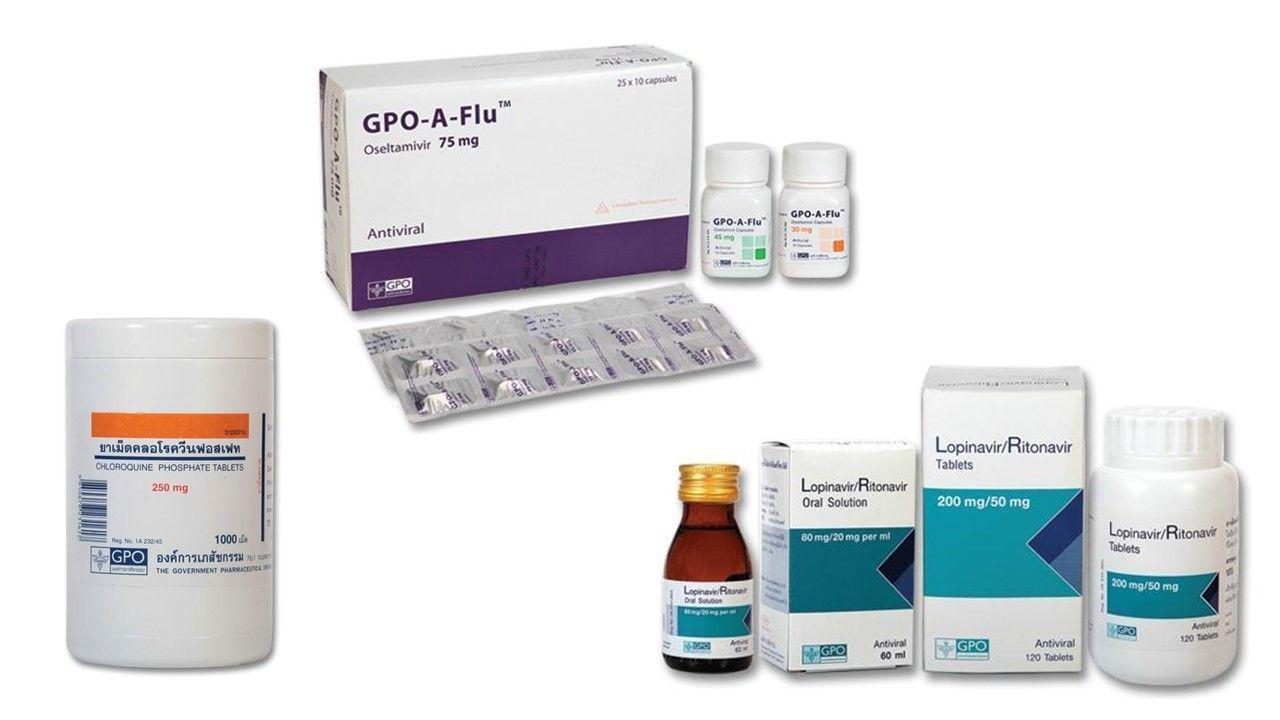 ไทยสำรองยาฟาวิพิราเวียร์ 40,000 เม็ด รองรับ 800 คน สู้โควิด-19