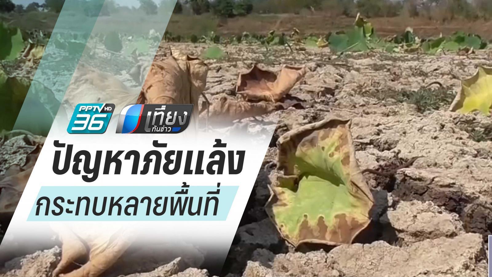 ภัยแล้ง ส่งผลแม่น้ำแห้งขอด กระทบหลายพื้นที่
