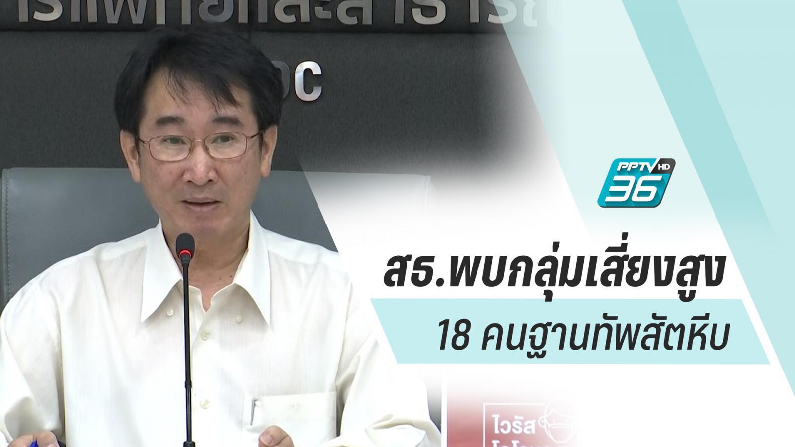สธ.เผยแรงงานไทยจากเกาหลี รับสังเกตอาการโควิด 19 พบเสี่ยงสูง 8 คน