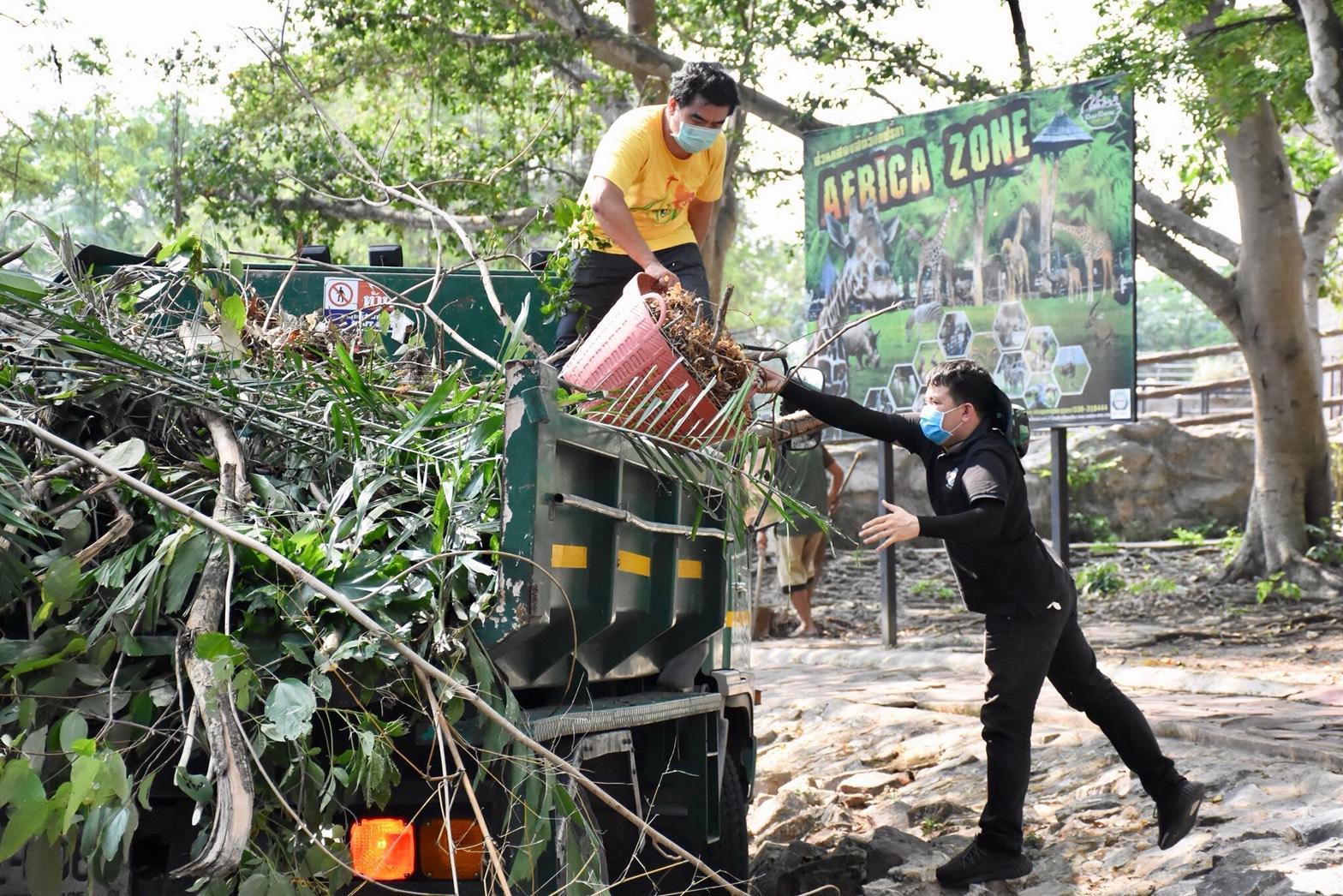 องค์การสวนสัตว์ ตรวจเยี่ยมสวนสัตว์เปิดเขาเขียว หลังปิดหนีโควิด-19