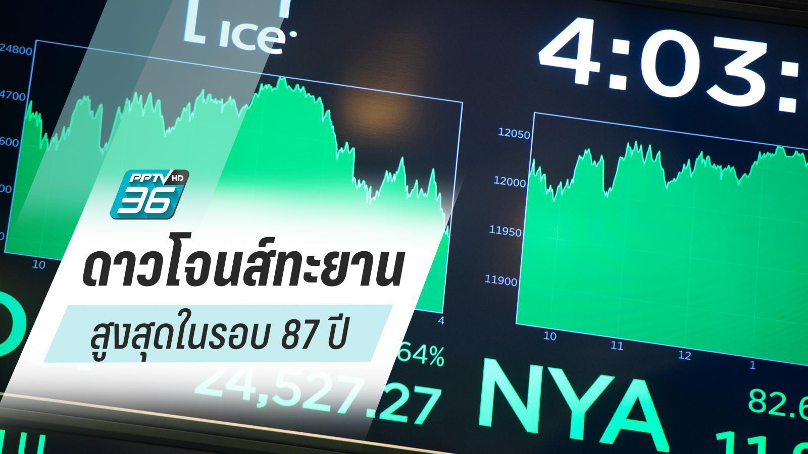 หุ้นไทยเคลื่อนไหวแดนบวกตลอดทั้งวัน แรงหนุนจากปัจจัยในและนอกประเทศ