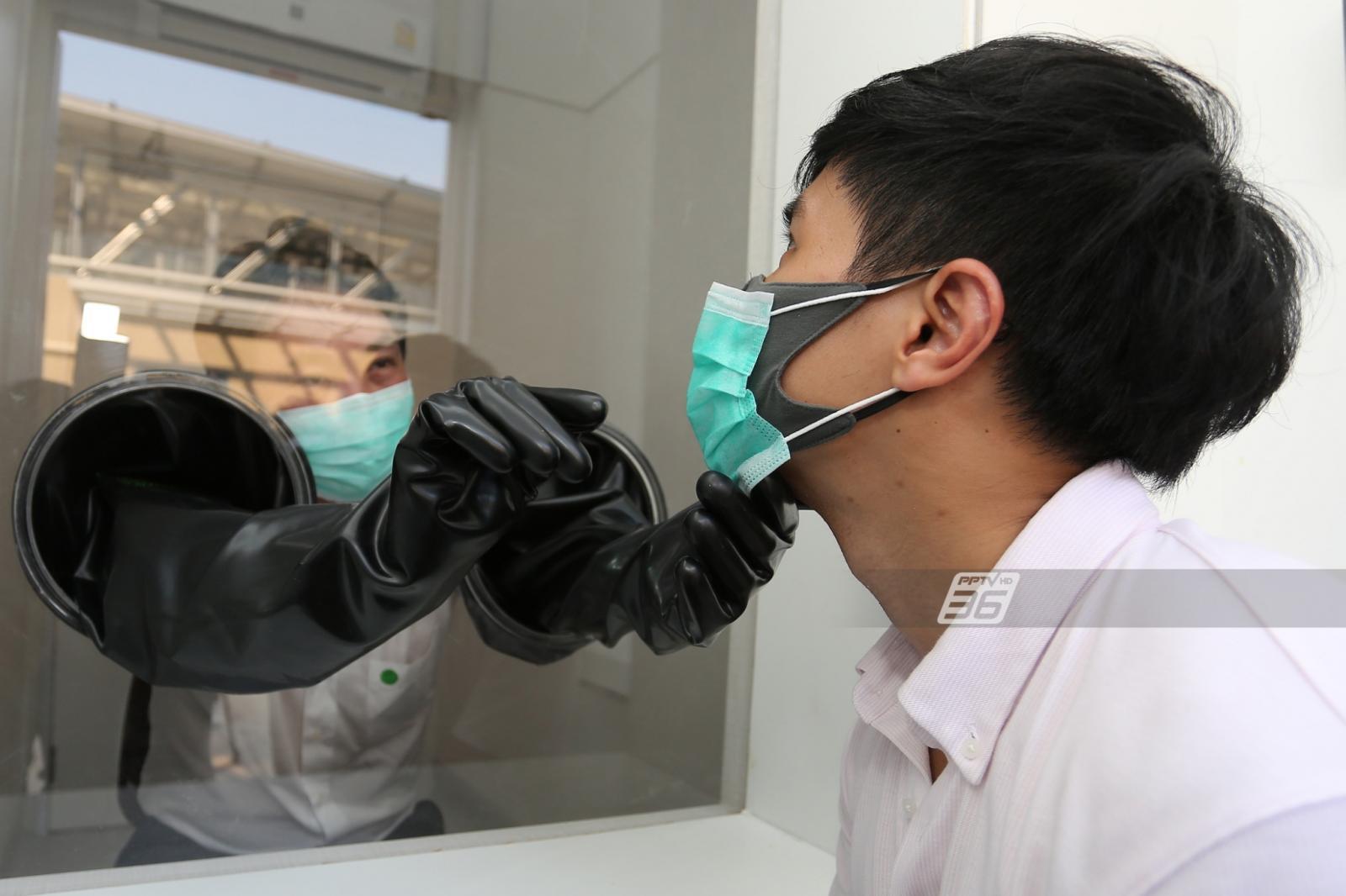 นวัตกรรม ห้องคัดกรองและตรวจผู้ที่มีความเสี่ยง โควิด-19 เลดเสี่ยงให้บุคลากรการแพทย์