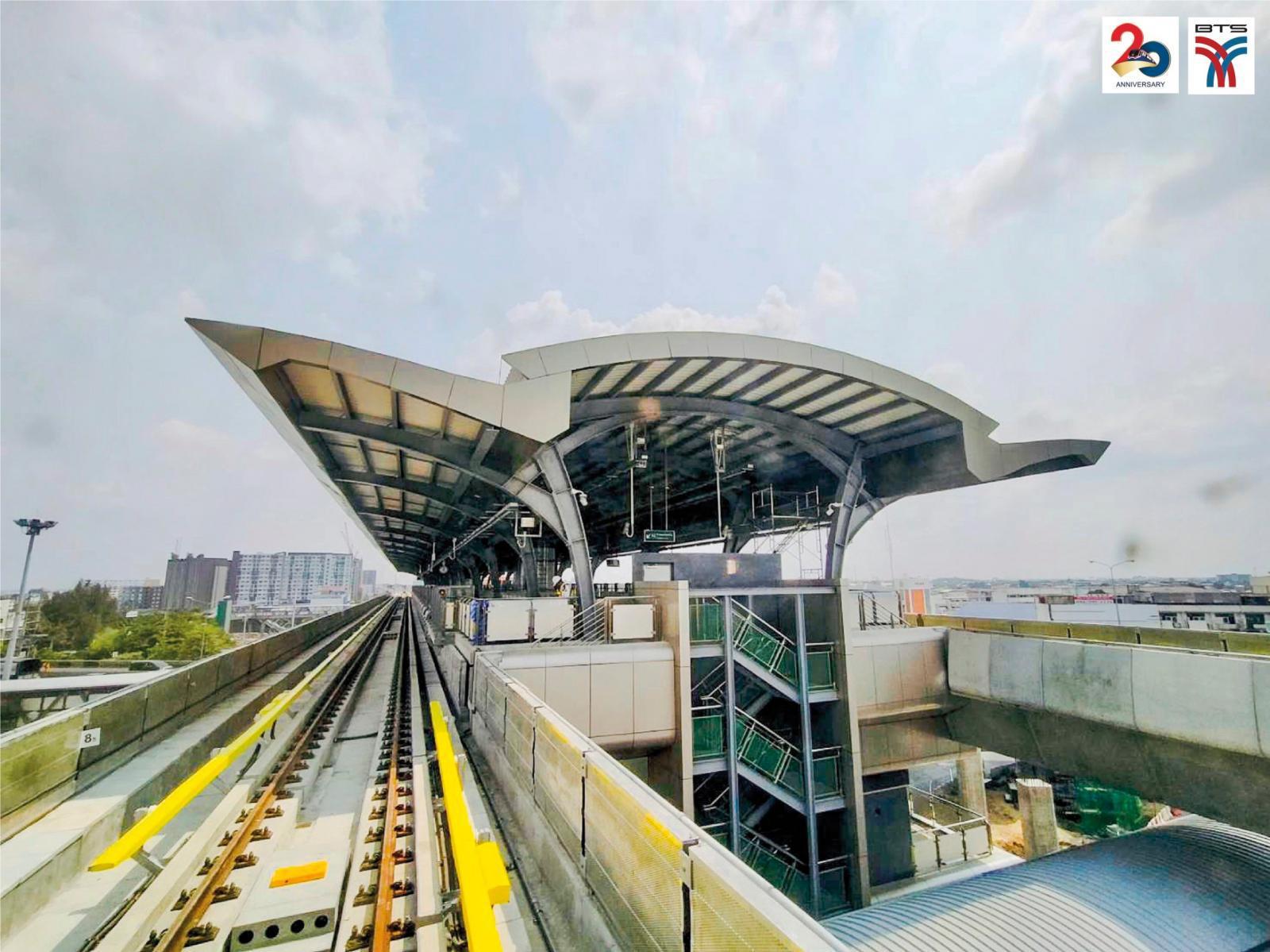 บีทีเอส เตรียมเดินรถ 4 สถานีใหม่  ถึงสถานีวัดพระศรีมหาธาตุ