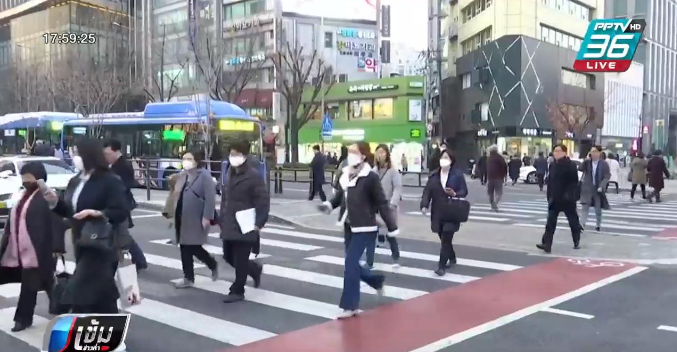 ชาวเกาหลีใต้ใช้สิทธิเลือกตั้งสมาชิกรัฐสภาล่วงหน้า
