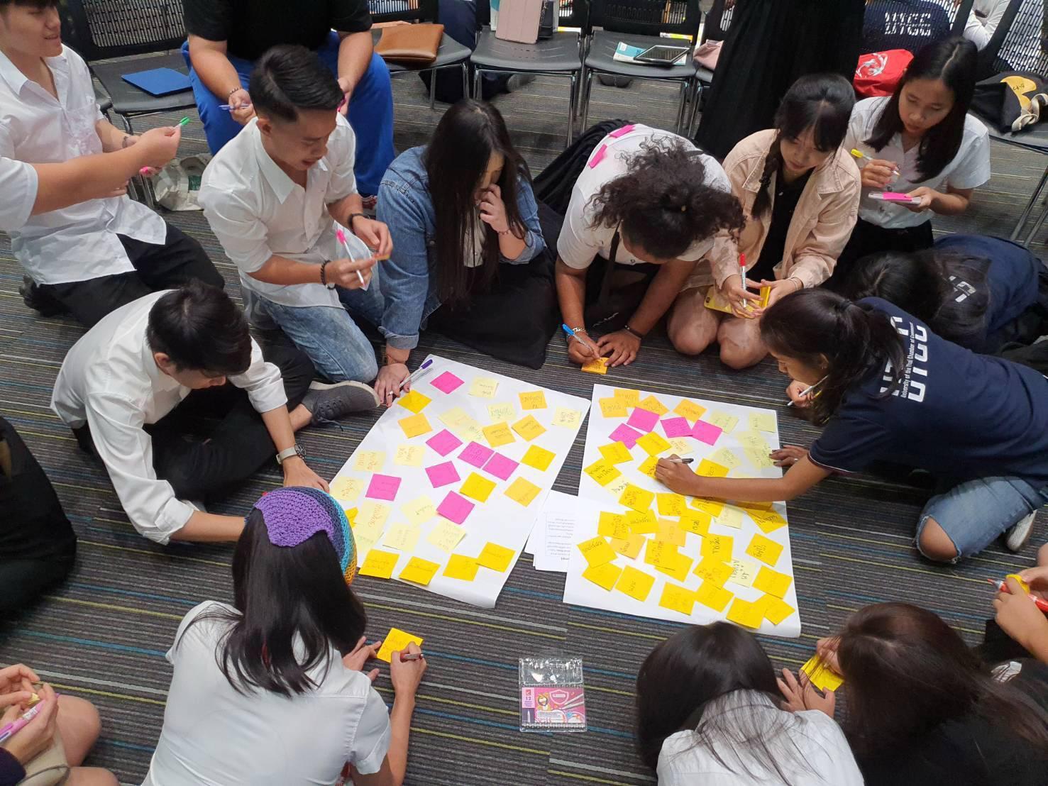 """ม.หอการค้าไทย สอนนศ.ปี1 """"ออกแบบชีวิต"""" ด้วยวิชาใหม่ ช่วยให้ค้นพบตัวเองด้วย Design Thinking"""