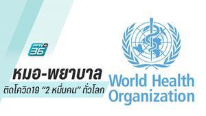 บุคลากรทางการแพทย์ทั่วโลกติดโควิด-19  แล้ว  22,073 คน