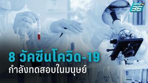 8 จาก 102  วัคซีนโควิด-19 ตัวต้นแบบ กำลังทดสอบในมนุษย์