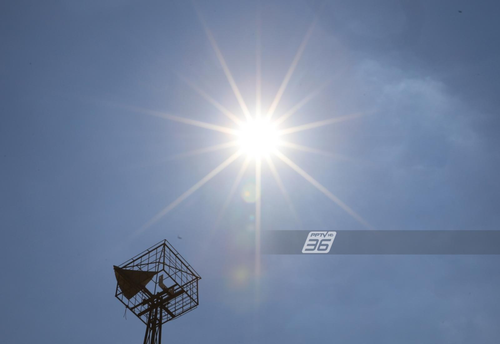 ร้อนตับแตก! วันนี้ ไทยอุณหภูมิสูงสุด 42 องศา - มีฝนเล็กน้อย