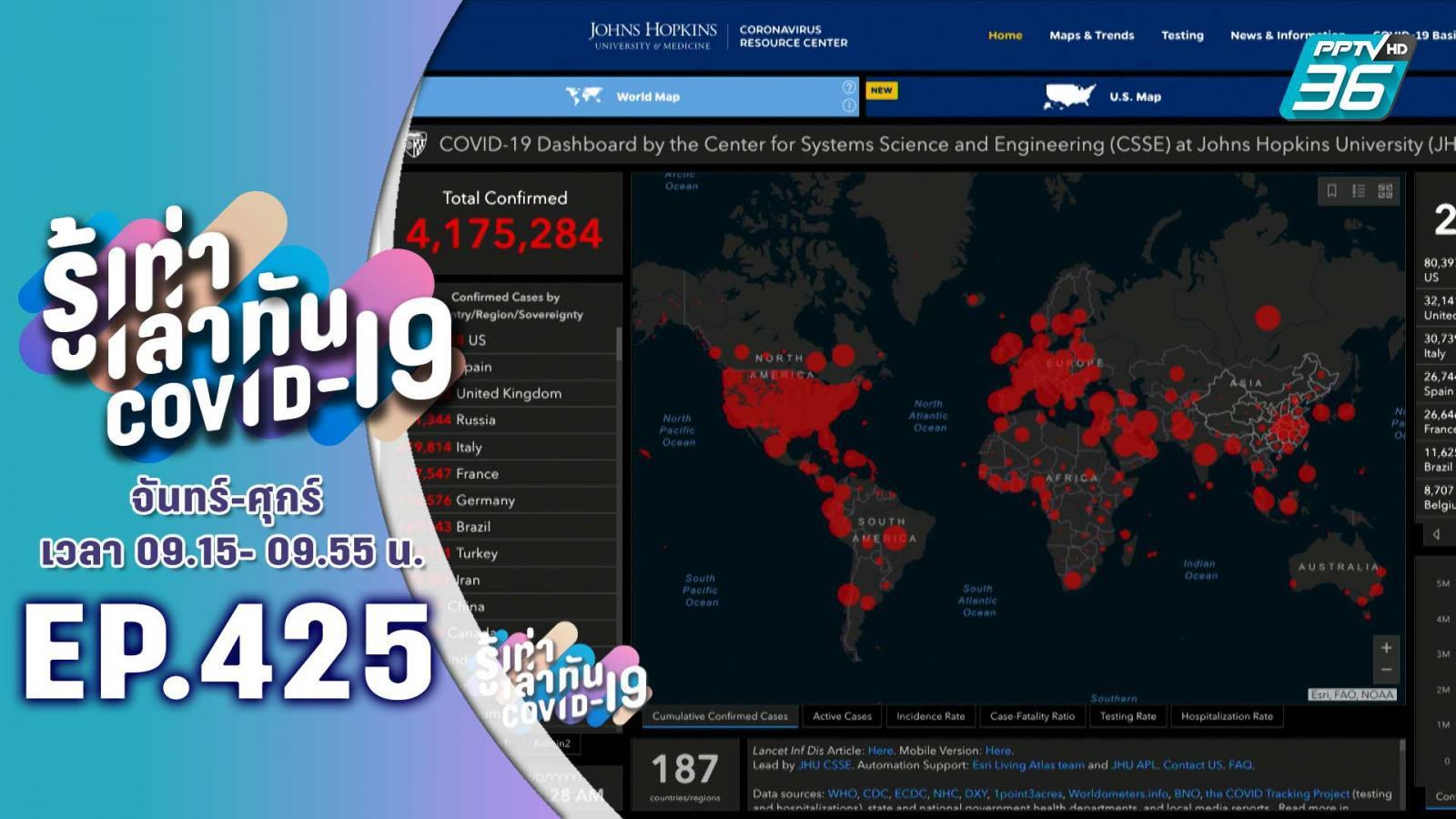 องค์การอนามัยโลก เรียกร้องให้หลายประเทศ ยังเข้มงวดหลังคลายล็อกดาวน์