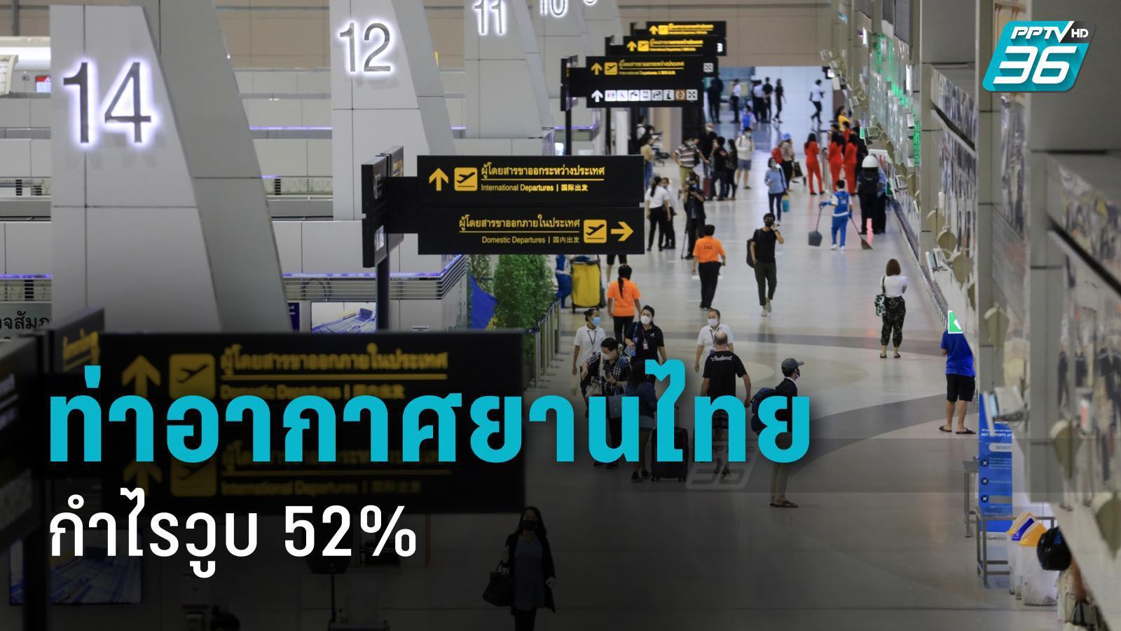 บ.ท่าอากาศยานไทย เจอพิษโควิด กำไรวูบ 52% หาย 3.9 พันล้าน