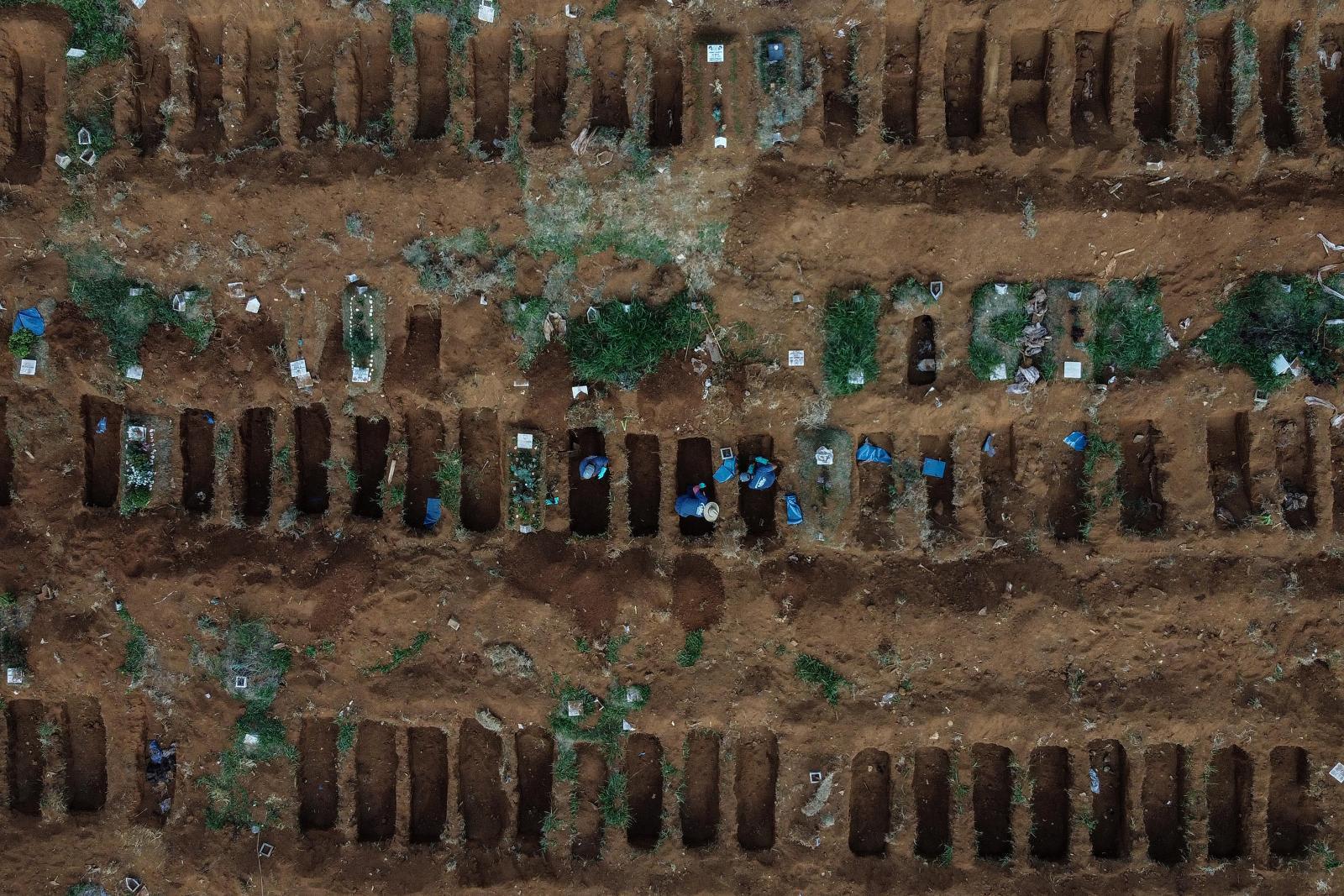บราซิล ขึ้นอันดับ 2 โลก ติดเชื้อโควิด-19 รองสหรัฐฯ