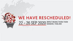THAIFEX - ANUGA ASIA 2020 เตรียมพร้อมจัดงานกันยายน 2563
