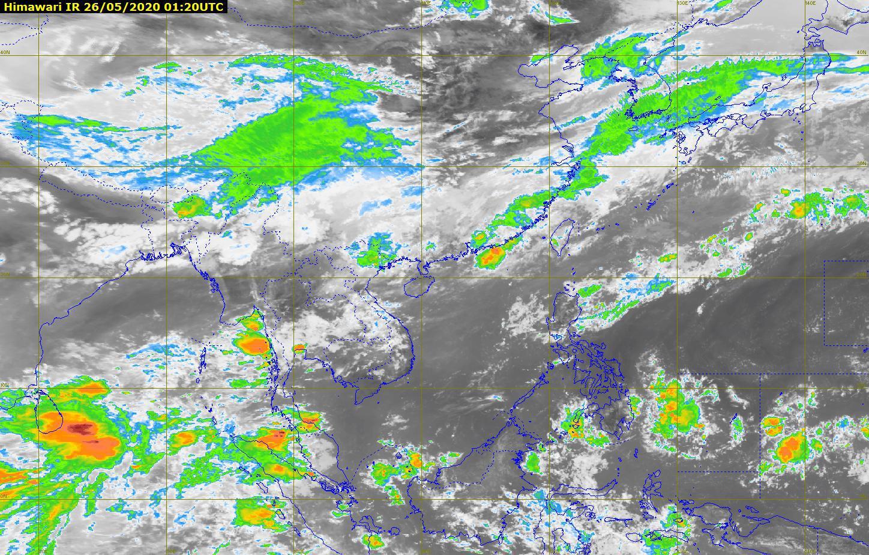 อุตุฯ เผย ไทยฝนตกหนักบางแห่ง กทม.มีปริมาณฝน 40%