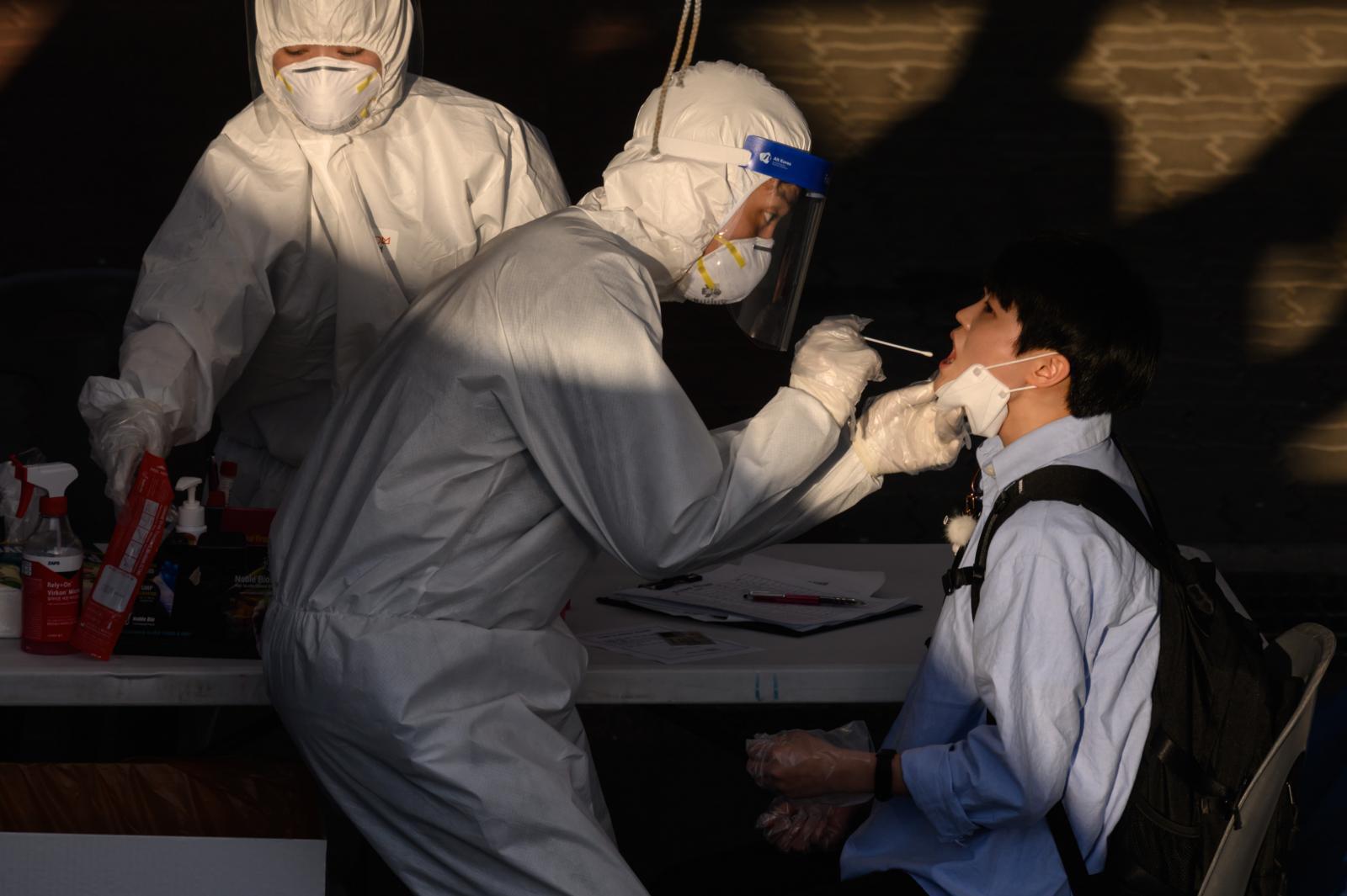 ผู้ป่วยโควิด-19 ในเกาหลีใต้รายใหม่เพิ่มสูงขึ้นมากสุดในรอบ 2 เดือน