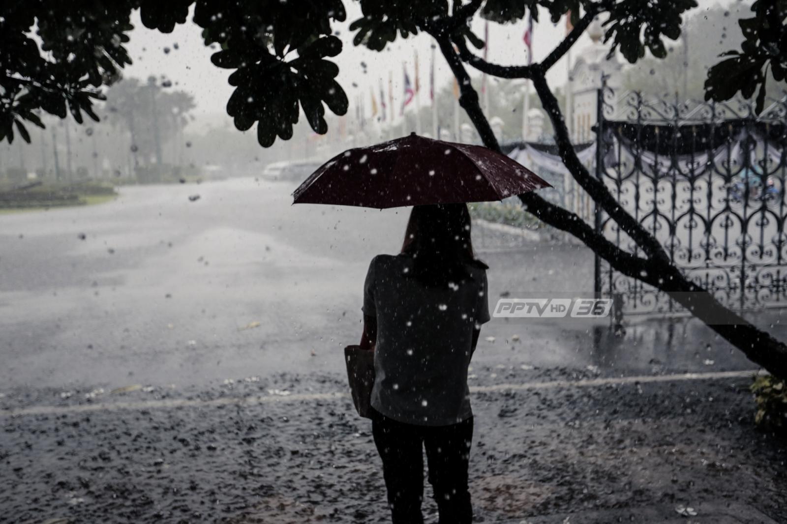 อุตุฯ เตือน ฝนตกหนักบางแห่ง กรุงเทพฯ ฝนฟ้าคะนองร้อยละ 60