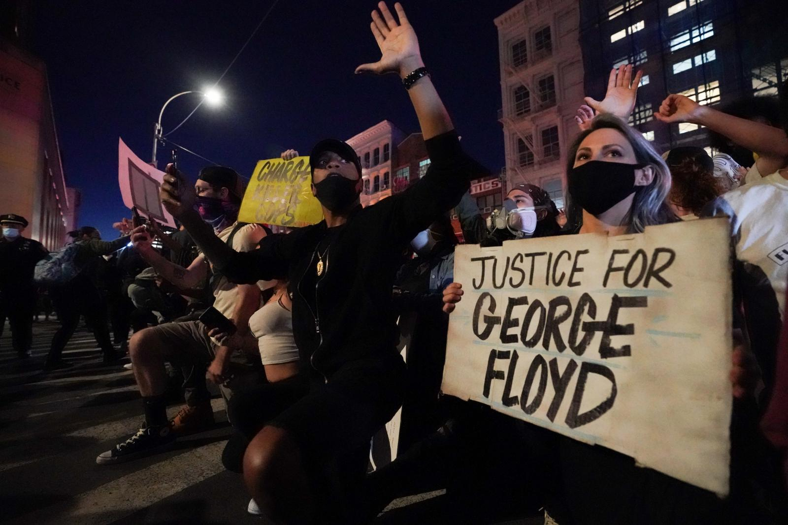 """1 สัปดาห์แห่งความโกรธแค้น เกิดอะไรขึ้นบ้างในคดี """"จอร์จ ฟลอยด์"""""""