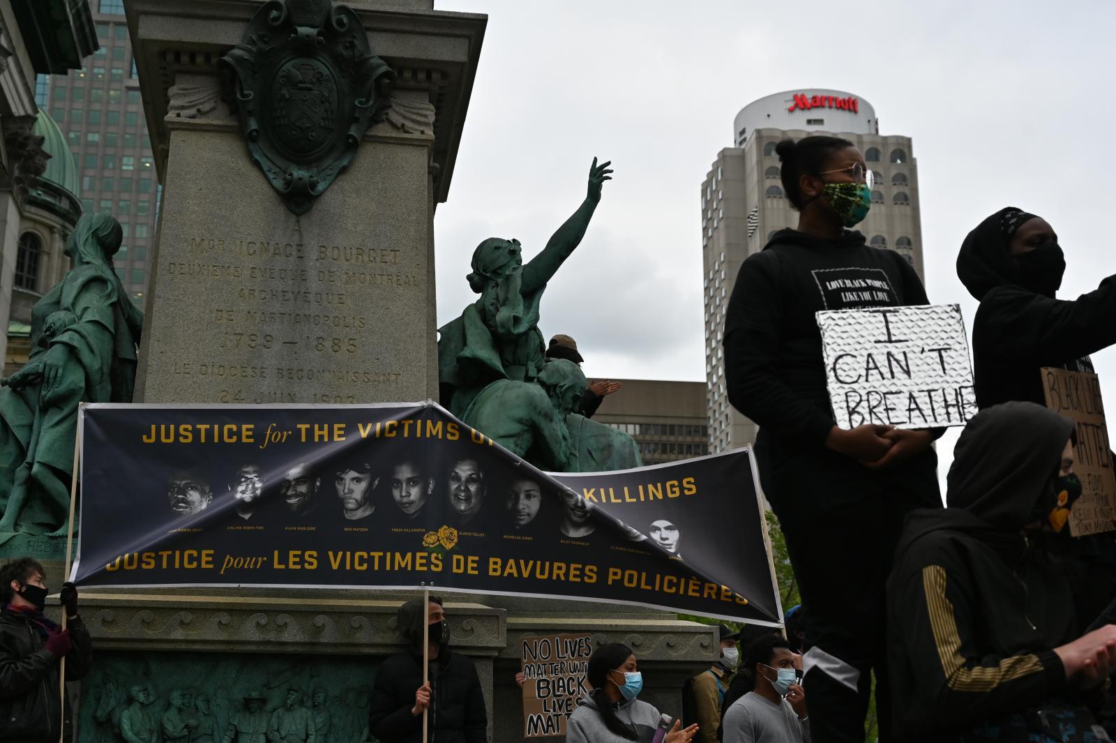"""ผู้คนในหลายประเทศทั่วโลกร่วมประท้วงการตายของ """"จอร์จ ฟลอยด์"""""""