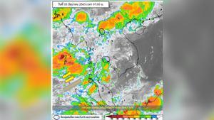 """พยากรณ์อากาศวันนี้ ไทยฝนตกต่อเนื่อง """"เหนือ-ตะวันออก-ใต้"""" ระวังน้ำท่วมฉับพลัน"""