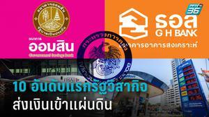 ผลการจัดเก็บเงินเข้ารายได้แผ่นดิน งบปี 63 จากรัฐวิสาหกิจไทย