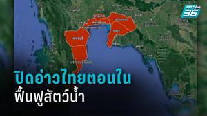 ประกาศ!! ปิดอ่าวไทยตอนใน 15 มิ.ย.-30 ก.ย.ฟื้นฟูสัตว์น้ำ