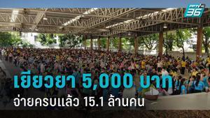 """จ่ายเงิน เยียวยาเราไม่ทิ้งกัน ครบแล้ว 15.1 ล้านคน """"ธนกร""""เผย ปชช.ฝากขอบคุณลุงตู่"""