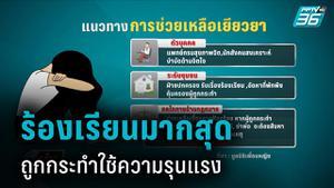 มูลนิธิเพื่อนหญิง เผย หญิงไทยร้องเรียนความรุนแรง 100 คน/เดือน