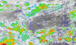 พยากรณ์อากาศวันนี้ เหนือ-ใต้ ฝนตกหนัก ด้าน กทม.มีปริมาณฝน 30%