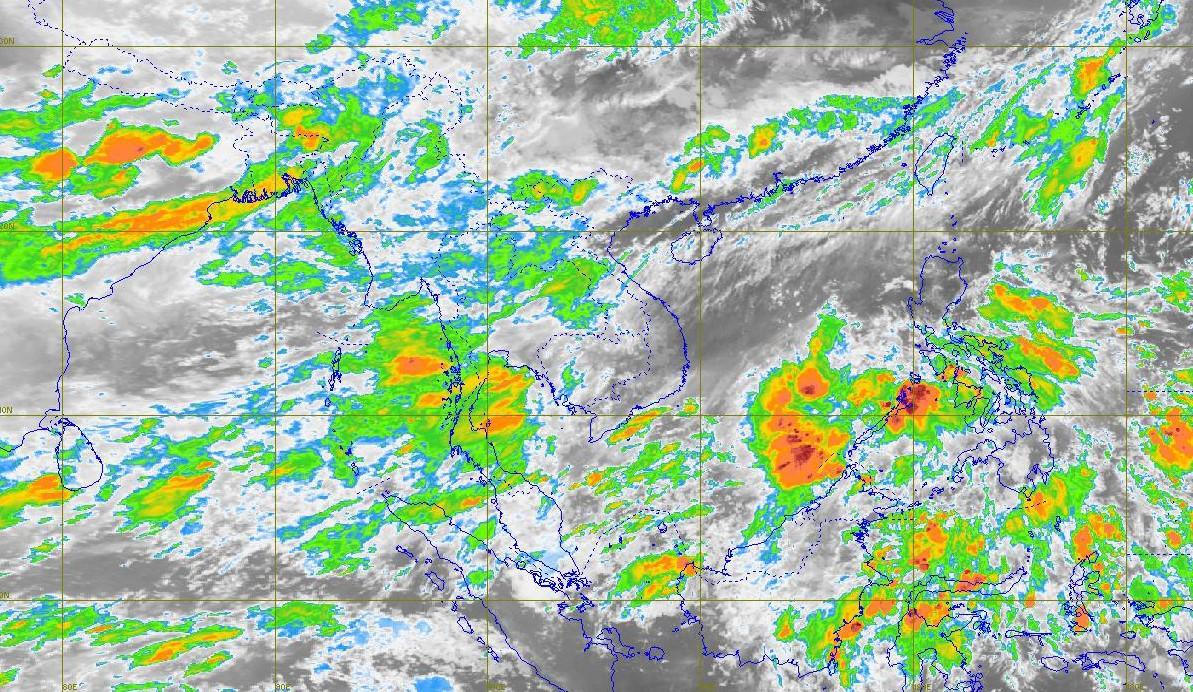 พยากรณ์อากาศวันนี้ ไทยฝนตกต่อเนื่อง – กทม. มีปริมาณฝน 40%