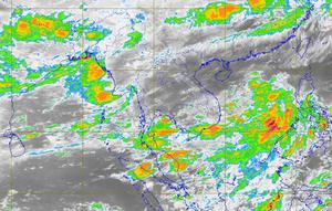 พยากรณ์อากาศวันนี้ เหนือ-ตะวันออก-ใต้ ฝนตก 60%