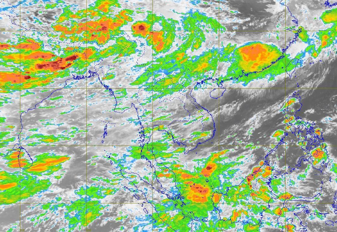 พยากรณ์อากาศวันนี้ อุตุฯ เตือน ใต้ฝนตกหนัก – กทม.มีปริมาณฝน 30%