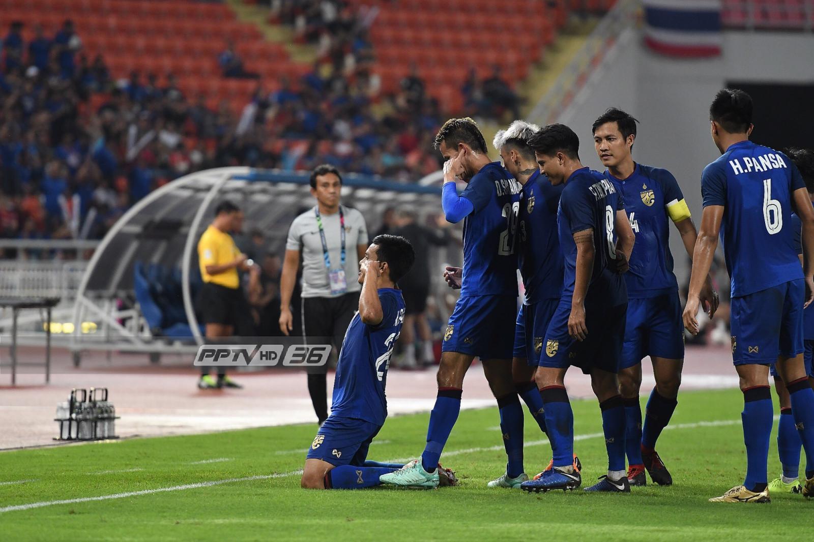 การแข่งขันฟุตบอลชิงแชมป์อาเซียน เอเอฟเอฟ ซูซูกิ คัพ 2018 ที่สนามราชมังคลากีฬาสถาน (เมื่อวันที่ 17 พ.ย.61)