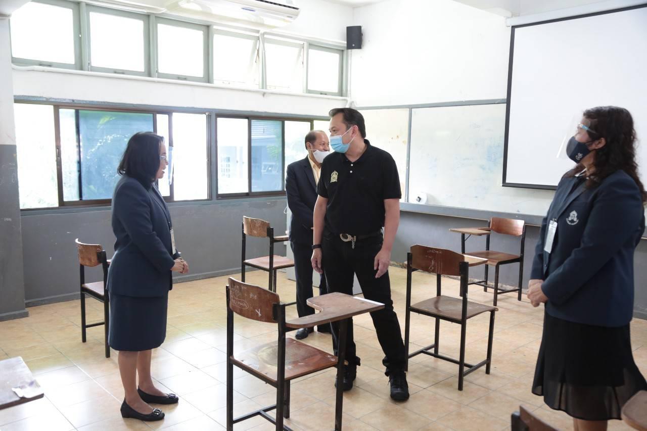 เสมา1 ให้กำลังใจสอบครูผู้ช่วย เชื่อมั่นในศักยภาพครู พร้อมเป็นต้นแบบที่ดีให้กับนักเรียน