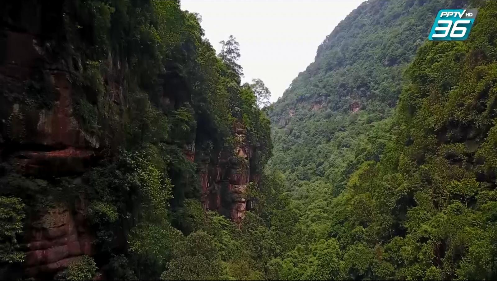 ผาหินแสงพระพุทธ เมืองฉงชิ่ง ประเทศจีน