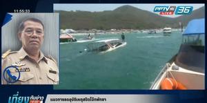 สัมภาษณ์ประธานชมรมเรือท่องเที่ยวเมืองพัทยากรณีเรือท่องเที่ยวเกิดอุบัติเหตุ (คลิป)