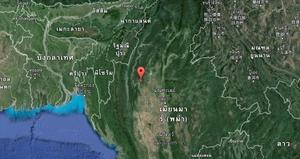 เกิดแผ่นดินไหว ขนาด 7.1  พรมแดนพม่า-อินเดีย