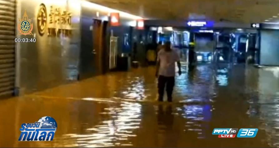 น้ำท่วม ดินถล่ม ทางตะวันตกเฉียงใต้ของจีน