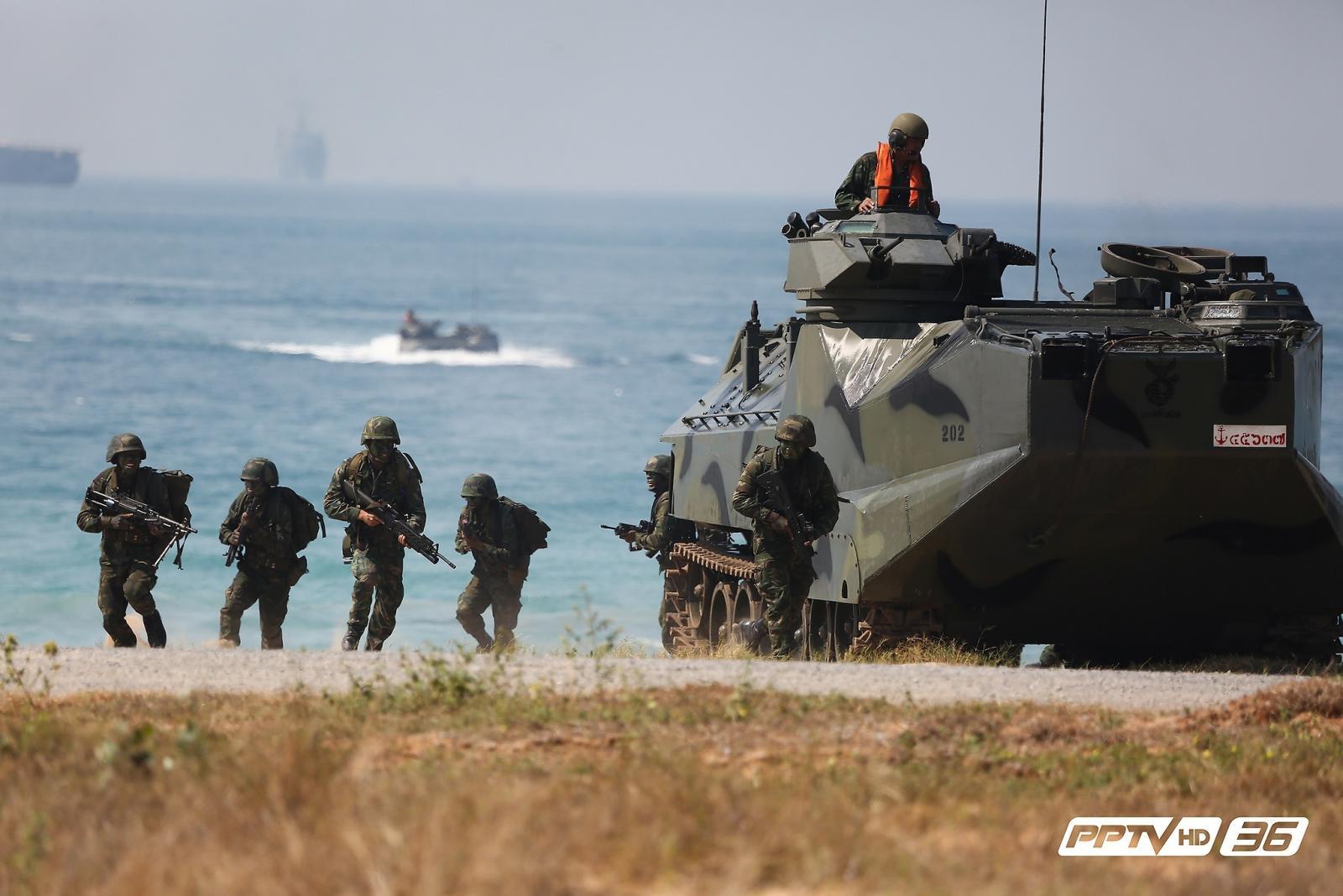 แสนยานุภาพ สหรัฐฯนำกองกำลังนานาชาติ ร่วมฝึกคอบร้าโกลด์