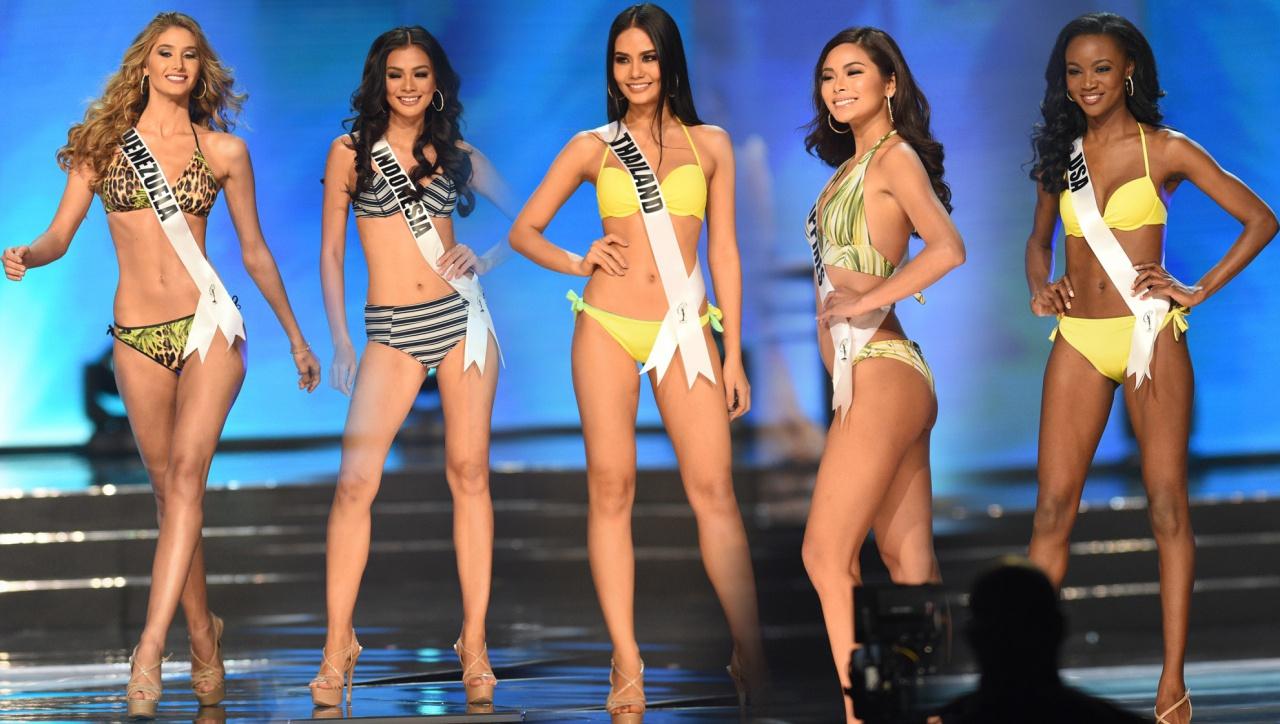 """5 ตัวเต็งนางงามสู่ว่าที่ """"Miss Universe 2016"""""""