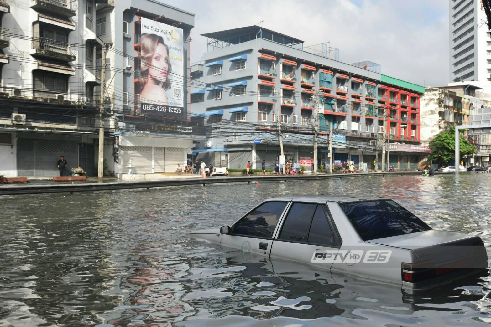 กทม.ชี้ฝนตกหนัก 3 เท่าเกินรับมือทำน้ำท่วมกรุง