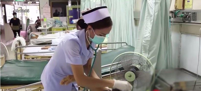 พบพยาบาลขอนแก่นติดเชื้อทางเดินหายใจอย่างรุนแรงจากคนไข้