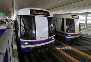 รฟม.หารือ BEM ทดลองถอดที่นั่งบางส่วนรถไฟฟ้า MRT สายสีน้ำเงิน
